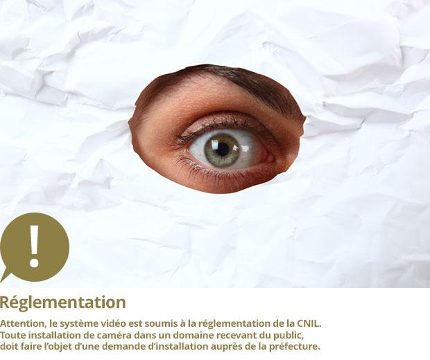 systèmes de sécurité et réglementation sur la vidéo